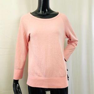 James Perse Vintage Fleece Sweatshirt Pullover